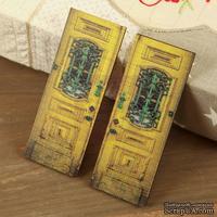 Деревянные украшения Prima - Двери  - Wood Door №4, 2 шт.