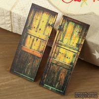 ЦЕНА СНИЖЕНА! Деревянные украшения Prima - Двери - Wood Door №5, 2 шт.