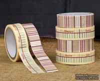 ЦЕНА СНИЖЕНА! Набор скотчей Prima - Washi & Fabric Tape - Sunrise Sunset