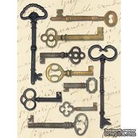 Декоративные металлические ключи от K&Company - Life's Journey Keys Metal Art