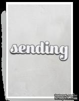 Нож от Birch Press Design - Big sending sugar script, 2 шт.