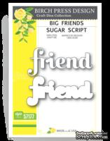 Ножи от Birch Press Design - Big friend sugar script