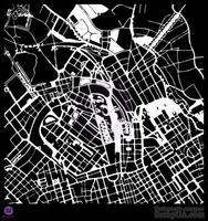 ЦЕНА СНИЖЕНА! Маска от Prima -  Stencils- Map, 30 x 30 см.