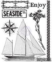 Акриловый штамп от Prima - Seashore Clear Stamp 1