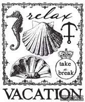 Акриловый штамп от Prima - Seashore Clear Stamp 2