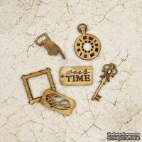 ЦЕНА СНИЖЕНА! Деревянные украшения Prima - Wood Icons - Time Traveler's Memories