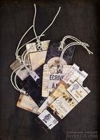 ЦЕНА СНИЖЕНА! Ярлычки и билетики от Prima - Cartographer, 24 шт.