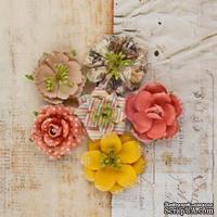 ЦЕНА СНИЖЕНА! Набор цветов от Prima - Princess Flower- Glass slippers, 6 шт