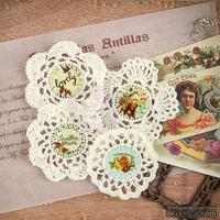 ЦЕНА СНИЖЕНА! Вязаные украшения Prima - Crochet Icons - Cigar Box Secrets