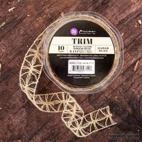 Лента Prima - Weave Trim - Flower, цвет кремовый, 90 см