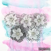 ЦЕНА СНИЖЕНА! Набор цветов Prima из кальки - Juno Collection - Tuxedo