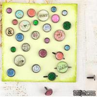 Брадсы Prima - Garden Fable, 30 штук - ScrapUA.com