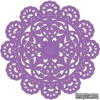 Нож для вырубки от Prima - Parisian Lace - Purple Metal Die (584047) - ScrapUA.com