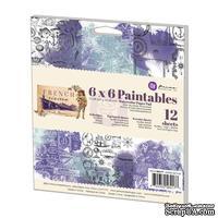 Набор акварельной бумаги от Prima - French Riviera Paintables, 15,24x15,24 см, 12 л