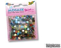 Мозаика от Folia - глянцевая 5x5 мм (700 штук), 20 различных цветов