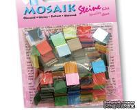 Мозаика от Folia - глянцевая 10x10мм (190 штук), 20 различных цветов