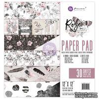 """Набор бумаги от Prima - Rose Quartz  12""""x12"""" Paper Pad, 30.5x30.5см, 30 листов"""