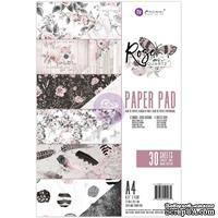 Набор бумаги от Prima - Rose Quartz A4 Paper Pad, 30 листов
