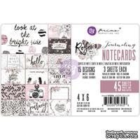 """Карточки для журналинга от Prima - Rose Quartz Journaling Cards 4""""X6"""""""