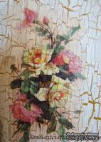 """Бумага для декупажа """"Композиция Розы-2"""", размер: 35x50 см"""
