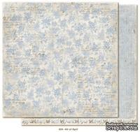 Двусторонний лист бумаги для скрапбукинга от Maja Design - Vintage Spring Basics - 4th of April, 30x30 см
