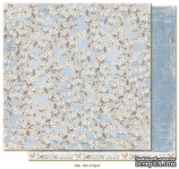 Двусторонний лист бумаги для скрапбукинга от Maja Design - Vintage Spring Basics - 6th of April, 30x30 см