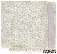 Двусторонний лист бумаги для скрапбукинга от Maja Design - Vintage Spring Basics - 8th of April, 30x30 см
