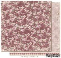 Двусторонний лист скрапбумаги от Maja Design - Vintage Autumn Basics no.VI, 30х30см