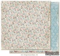 Двусторонний лист скрапбумаги от Maja Design - Vintage Autumn Basics no.XII, 30х30см