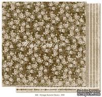 Двусторонний лист скрапбумаги от Maja Design - Vintage Autumn Basics no.XVII, 30х30см