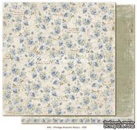 Двусторонний лист скрапбумаги от Maja Design - Vintage Autumn Basics no.XXII, 30х30см