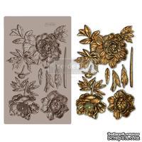 Молды силиконовые от Prima - Wild Rose - Redesign mould 5X8