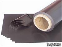 Магнитный винил на клеевой основе, 30 х 30 см, толщина 0,4 мм.