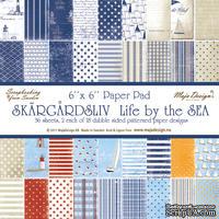 Набор бумаги для скрапбукинга от Maja Design - Life by the Sea PAPER PAD, 15х15 см, 36 листов