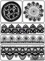 Акриловые штампы от Prima - Lace & Doily