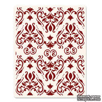Папка для тиснения Sizzix - Ink-its Letterpress Plate - Damask by Rachael Bright