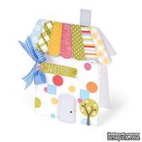 Лезвие Sizzix Bigz L Die - Card, House