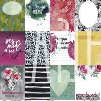 Односторонняя бумага от Артелье - FreeДА  - Карточки «Спой мне о любви», 30х30, 1 шт.