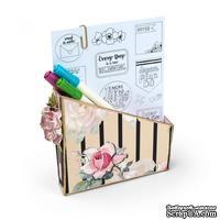 Нож Card Box, Planner Storage & Organizer - Органайзер для открыток от SIZZIX - CARD BOX