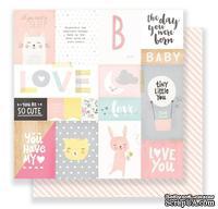 Скрапбумага от Crate Paper - My Sunshine, двусторонняя, 30х30 см