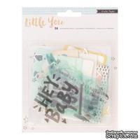 Набор высечек от Crate Paper - Little You Boy, 38 шт