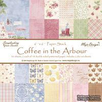 Набор бумаги для скрапбукинга от Maja Design - Coffee in the Arbour - Paper Pad, 15х15 см, 36 листов