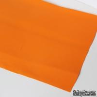 Лист фоамирана (пористой резины), А4 -20х30 (17х25) см, цвет: оранжевый