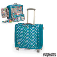 Сумка на колесиках Trolley Bag – Aqua от We R Memory Keepers