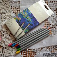 Карандаши цветные, 12 цветов, шестигранные, Marco Raffine