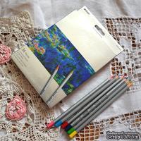 Карандаши цветные, 36 цвета, шестигранные, Marco Raffine