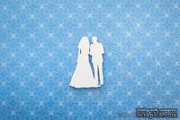 """Чипборд от WOODchic - Пара """"Невеста и жених"""""""