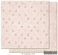 Лист двусторонней бумаги от Maja design - Vintage Baby - Cherish, 30х30см