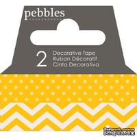 Бумажный скотч Pebbles - Basics Honeycomb, длина 10 м, ширина 1 см