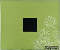 Альбом для скрапбукинга от American Crafts - D-Ring - Leaf Roses, 30х30 см.